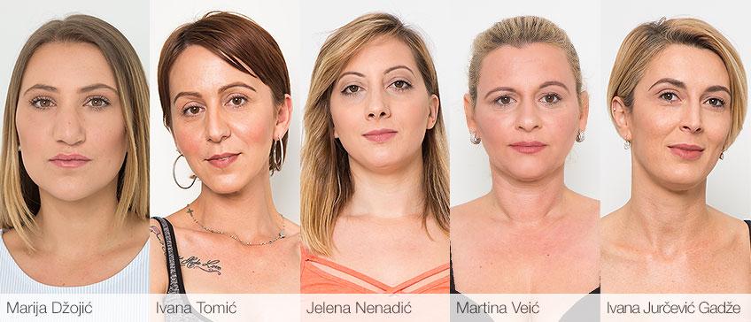 Marija Džojić - Ivana Tomić - Jelena Nenadić - Martina Veić - Ivana Jurčević Gadže